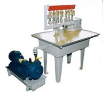 Установка для поверки и юстировки бытовых счетчиков газа У-659