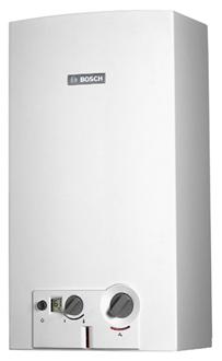 Газовые проточные водонагреватели Bosch с розжигом от гидрогенератора