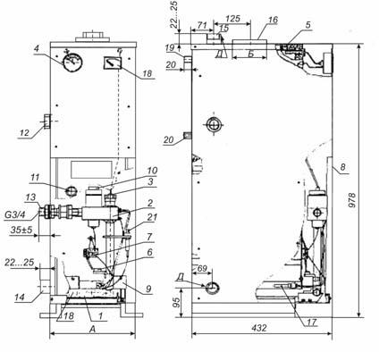 2-регулятор газовой горелки
